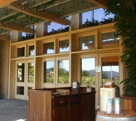 Ridge Vineyards exterior view 1